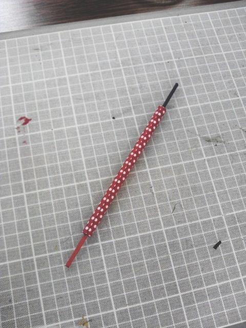 ジブング研究所 「鉛筆作れるんだぜぇ~ワイルドだろぅ~」で作った、赤青鉛筆