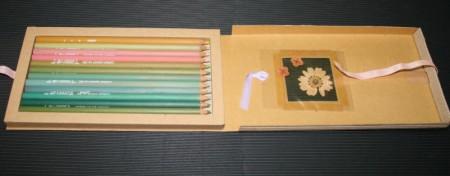 seaso・nia 春verパッケージ open時/コーリン鉛筆(COLLEEN)