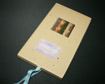 seaso・nia 冬verパッケージ/コーリン鉛筆(COLLEEN)