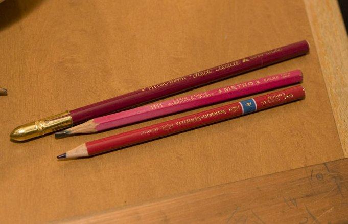 ヘクトペンシルとコッピー鉛筆